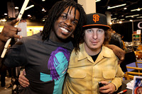 Thomas Pridgen and Abe Cunningham
