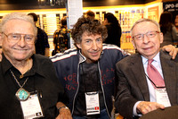 Ed Shaugnessy, Simon Phillips, and Herb Brochstein