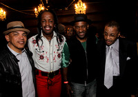Ricky Minor, Verdine White, Marcus Miller, and James Jamerson Jr.