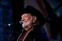 Willie Nelson at Farm Aid 25