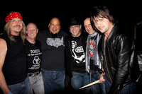 Khurt Mair, Chris Slade, Abe Laboriel Jr. Uncle Jo Benson, Kenny Aronoff, and Jason Sutter
