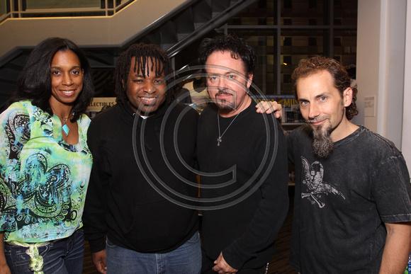Renee Jones, Eric Valentine, Steve Lukather, And Steve Weingart
