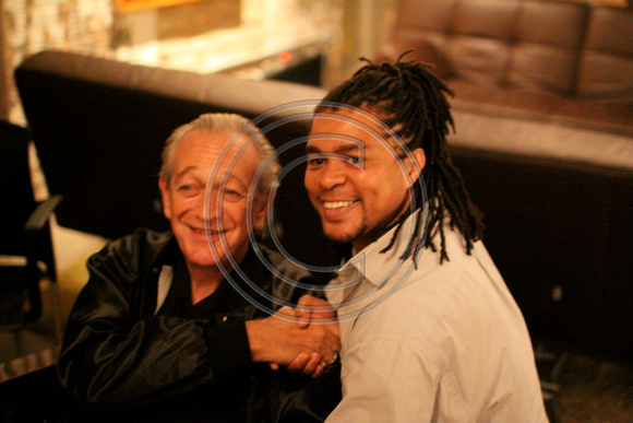Charlie Musselwhite and Grady Champion