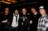 Vinnie Appice, Jason Sutter, Kenny Aronoff, Carmine Appice, and Stephen Perkins